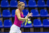 Rotterdam,Netherlands, December 15, 2015,  Topsport Centrum, Lotto NK Tennis,  Erika Vogelsang (NED)<br /> Photo: Tennisimages/Henk Koster