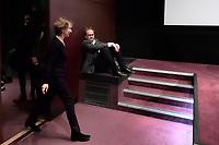 Nathalie BAYE, Xavier BEAUVOIS - Avant-Premiere du film LES GARDIENNES de Xavier Beauvois - La Cinematheque francaise - 1 decembre 2017 - Paris - France # AVANT-PREMIERE 'LES GARDIENNES' A PARIS
