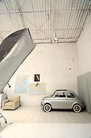 modern white studio