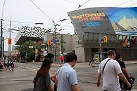 Toronto (ON) CANADA - July 2012 - Art Gallery of Ontario on Dundas street.