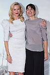 08.10.2012. The film team attends the premiere of Kinepolis Cinema in Madrid of the movie 'The Impossible'. Directed by Juan Antonio Bayona and starring by  Naomi Watts and Tom Holland. In the image (L-R) Naomi Watts and María Belóna (Alterphotos/Marta Gonzalez)