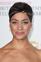 Cush Jumbo<br /> in the winners room at the 2016 BAFTA TV Awards, Royal Festival Hall, London<br /> <br /> <br /> ©Ash Knotek  D3115 8/05/2016
