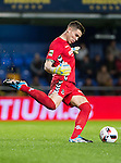 """Goalkeeper Manuel Rodriguez Descalzo """"Manolo"""" of CD Toledo in action during their Copa del Rey 2016-17 match between Villarreal CF and CD Toledo at the Estadio El Madrigal on 20 December 2016 in Villarreal, Spain. Photo by Maria Jose Segovia Carmona / Power Sport Images"""