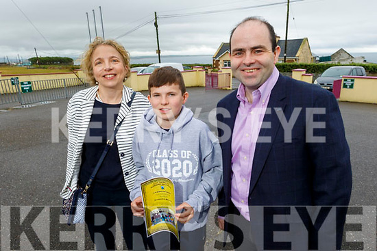 Eamon Harty from Ballyheigue graduating from Glenderry NS on Friday, standing with his parents Sheila and Edmund Harty.