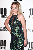 "Kierston Wareing<br /> at the ""100 Streets"" UK premiere, Bfi South Bank, London.<br /> <br /> <br /> ©Ash Knotek  D3195  08/11/2016"