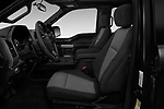 Front seat view of a 2018 Ford F-150 XLT 4wd SuperCrew 4 Door Pick Up front seat car photos