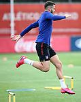 Atletico de Madrid's Saul Niguez during training session. May 26,2020.(ALTERPHOTOS/Atletico de Madrid/Pool)