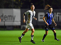forward Ylenia Carabott of Sporting Charleroi pictured during a female soccer game between Sporting Charleroi and Club Brugge YLA on the fourth matchday of the 2020 - 2021 season of Belgian Scooore Womens Super League , friday 9 nd of October 2020  in Marcinelle , Belgium . PHOTO SPORTPIX.BE | SPP | DAVID CATRY
