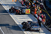 NASCAR Camping World Truck Series<br /> Bar Harbor 200<br /> Dover International Speedway, Dover, DE USA<br /> Friday 2 June 2017<br /> Noah Gragson, Switch Toyota Tundra makes a pit stop, Harrison Burton, DEX Imaging Toyota Tundra makes a pit stop, Sunoco<br /> World Copyright: Logan Whitton<br /> LAT Images<br /> ref: Digital Image 17DOV1LW2248
