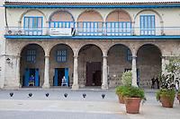Cuba, Havana.  Casa del Conde Jaruco, Plaza Vieja, Old Havana.  Built 1733-37.