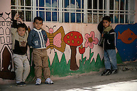 Children in a nursery in Mardin, southeastern Turkey