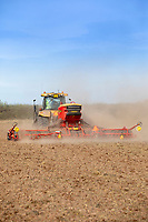 Drilling winter wheat - Lincolnshire, October