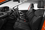 Front seat view of 2015 Peugeot 208 Allure 5 Door Hatchback Front Seat  car photos