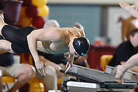 2011 Men's Big Ten Swimming & Diving Friday Prelims (NW)