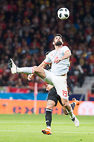 Spain Diego Costa during friendly match between Spain and Argentina at Wanda Metropolitano in Madrid , Spain. March 27, 2018.  *** Local Caption *** © pixathlon<br /> Contact: +49-40-22 63 02 60 , info@pixathlon.de