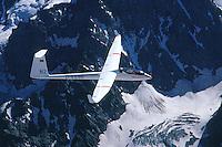 D 36, Segelflugzeug, N2, Alpen , Ecrin