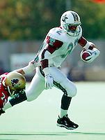 Mike Dingle San Antonio Texans 1995. Photo F. Scott Grant