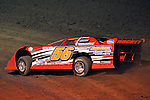 Feb 12, 2009; 7:07:59 PM; Barberville, FL, USA; World of Outlaws Late Model Series for the $10,000 to win at Volusia Speedway Park.  Mandatory Credit: (thesportswire.net)