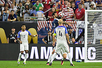 Houston, TX - Tuesday June 21, 2016: Ezequiel Lavezzi, Michael Bradley during a Copa America Centenario semifinal match between United States (USA) and Argentina (ARG) at NRG Stadium.