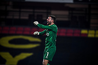 4th November 2020; Vicarage Road, Watford, Hertfordshire, England; English Football League Championship Football, Watford versus Stoke City; Ben Foster (GK) celebrates Watfords winning goal for 3-2 in the 93rd minute