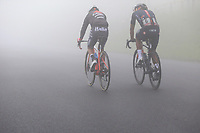22nd May 2021, Monte Zoncolan, Italy; Giro d'Italia, Tour of Italy, route stage 14, Cittadella to Monte Zoncolan; 31 CEPEDA Jefferson ECU, 6 NARVAEZ PRADO Jhonatan Manuel ECU