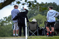 Fans watch from the embankment during day three of the second International Test Cricket match between the New Zealand Black Caps and Pakistan at Hagley Oval in Christchurch, New Zealand on Tuesday, 5 January 2021. Photo: Dave Lintott / lintottphoto.co.nz