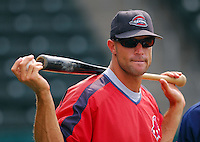 23 July 2007: Manager Gabe Kapler of the Greenville Drive, Class A South Atlantic League affiliate of the Boston Red Sox, in a game against the Savannah SandGnats at West End Field in Greenville, S.C. Photo by:  Tom Priddy/Four Seam Images