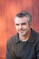 Christophe Bousquet Chateau Pech-Redon. La Clape. Languedoc. Owner winemaker. France. Europe.