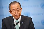SG Ban Ki Moon on Gaza