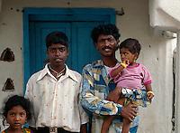Indien, Mysore (Karnataka), Väter und Kinder
