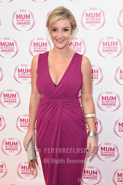 Helen Skelton arriving for the Tesco Mum of the Year Awards 2015 at the Savoy Hotel, London. 01/03/2015 Picture by: Steve Vas / Featureflash