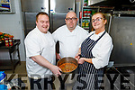 TJ Mc Inerney, Noel Dennehy and Martina Ryan Murphy working hard behind the scenes at Osnam House for St Vincent de Paul on Wednesday.