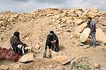"Shooting of the series ""Dhebbah Ighleis"" (""Ighleis the killer"") Jordan, March 2017 (Arab Telemedia). The story is inspired by a legendary character from the Bedouin mythology: Ighleis, a bloodthirsty killer is the hero of the series. His name is well known by the bedouins, reminding the stories told to frighten children.<br /> <br /> Tournage de la série ""Dhebbah Ighleis"" (""Ighleis le tueur"") Jordanie, Mars 2017 (Arab Telemedia). La série met en scène un personnage légendaire de la mythologie bédouine: Ighleis, un guerrier sanguinaire, est ici le héro. Son nom, pour les bédouins, évoque les histoires qu'on raconte aux enfants lorsqu'on veut leur faire peur."