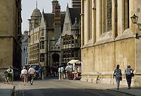 - the Oxford university town....- la città universitaria di Oxford