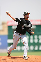 July 17 2008: Taylor Wilding of the San Jose Giants during game against the Lancaster JetHawks at Clear Channel Stadium in Lancaster,CA.  Photo by Larry Goren/Four Seam Images