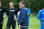 St Johnstone Pre-Season Training in Northern Ireland.. 08.07.16<br />Manager Tommy Wright all smiles<br />Picture by Graeme Hart.<br />Copyright Perthshire Picture Agency<br />Tel: 01738 623350  Mobile: 07990 594431