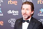 Actor Antonio de la Torre attends the red carpet previous to Goya Awards 2021 Gala in Malaga . March 06, 2021. (Alterphotos/Francis González)