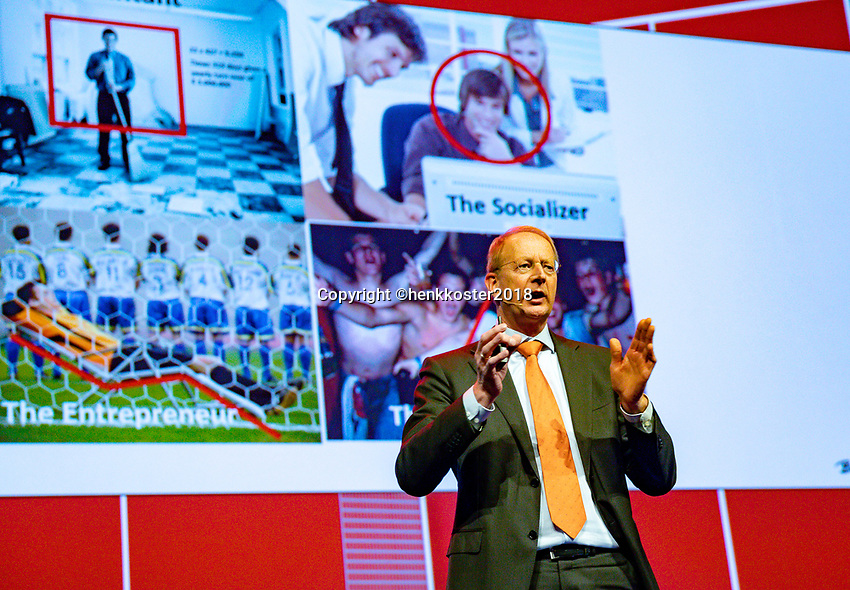 Nieuwegein,  Netherlands, 24 November 2018, KNLTB Year congress KNLTB, Berentd Rubingh<br /> Photo: Tennisimages.com/Henk Koster