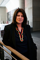 October 19 2004, Montreal (Quebec) CANADA<br /> Catherine Breillat film maker at the New Cinema Festival in Montreal.<br /> <br /> <br /> <br /> PHOTO :  Agence Quebec Presse