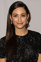 BEVERLY HILLS, CA - NOVEMBER 25: Actress Emmy Rossum arrives at the Saban Community Clinic 37th Annual Dinner Gala held at The Beverly Hilton Hotel on November 25, 2013 in Beverly Hills, California. (Photo by Xavier Collin/Celebrity Monitor)