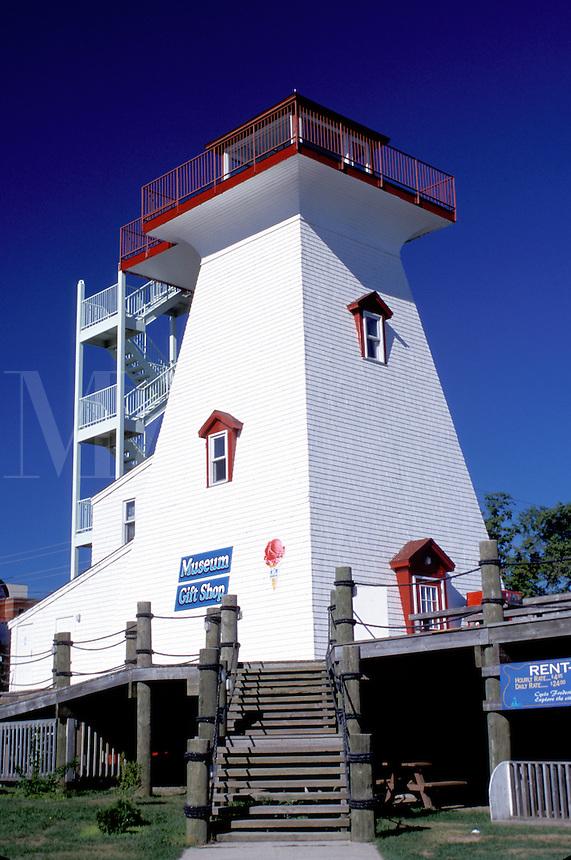 lighthouse, New Brunswick, NB, Canada, Fredericton Lighthouse Museum in Fredericton.
