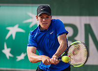 Paris, France, 5 June, 2017, Tennis, French Open, Roland Garros,  Junior boys: Ryan Nijboer (NED)<br /> Photo: Henk Koster/tennisimages.com