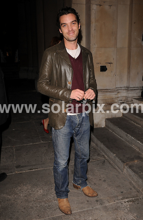 **ALL ROUND EXCLUSIVE PICTURES FROM SOLARPIX.COM**.**WORLDWIDE SYNDICATION RIGHTS**.Outside arrivals at the On_Off  Party, London Fashion Week's off-schedule designer initiative celebrating its 10th anniversary. The event also plays host to charity auction of exclusive beach huts designed by Guinness, Dixon and Geldof.  Held at the Royal Academy of Arts, London, UK.  Monday September 15, 2008...This pic: Jake Maskell..JOB REF: 7352 SSD     DATE: 15_09_2008.**MUST CREDIT SOLARPIX.COM OR DOUBLE FEE WILL BE CHARGED* *UNDER NO CIRCUMSTANCES IS THIS IMAGE TO BE REPRODUCED FOR ANY ONLINE EDITION WITHOUT PRIOR PERMISSION*