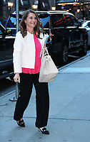 NEW YORK, NY - April 23:  Melinda Gates at Good Morning America promoting new book The Moment of Lift: How Empowering Women Changes the World on April 23, 2019 n New York  City. Credit: RW/MediaPunch