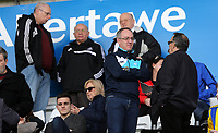 SWANSEA, WALES - MARCH 25: Swansea City fans during the Premier League International Cup Semi Final match between Swansea City and Porto at The Liberty Stadium on March 25, 2017 in Swansea, Wales. (Photo by Athena Pictures)Athena Pictures)