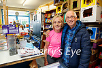 Eileen and Jimmy Moran who are retiring from Morans shop in Strand road on Friday.