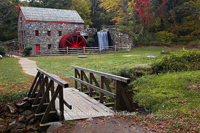 Wayside Grist Mill, Sudbury, Massachusetts