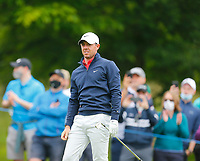 2nd July 2021; Mount Juliet Golf Club, Kilkenny, Ireland; Dubai Duty Free Irish Open Golf, Day Two; Rory Mcilroy of Northern Ireland watches his tee shot on the 14th hole