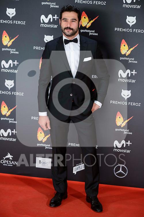 Antonio Velazquez attends to the Feroz Awards 2017 in Madrid, Spain. January 23, 2017. (ALTERPHOTOS/BorjaB.Hojas)
