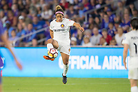 Orlando, FL - Saturday March 24, 2018: Utah Royals midfielder Desiree Scott (11) during a regular season National Women's Soccer League (NWSL) match between the Orlando Pride and the Utah Royals FC at Orlando City Stadium. The game ended in a 1-1 draw.